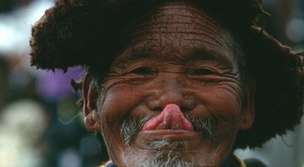 powitania w Tybecie