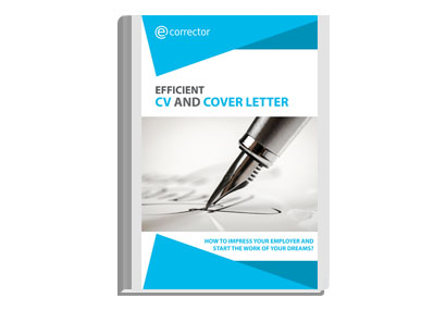 Efficient CV and cover letter