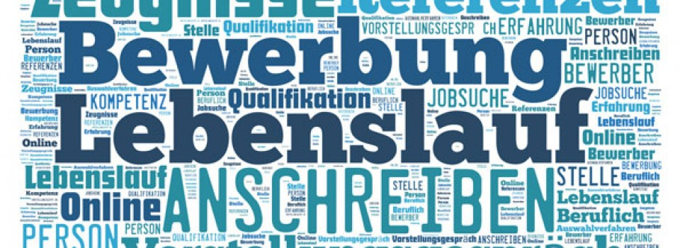 Cover letter in German – several recommendations
