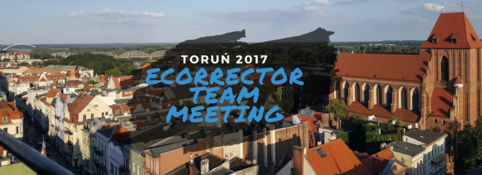 eCORRECTOR joins forces in Toruń