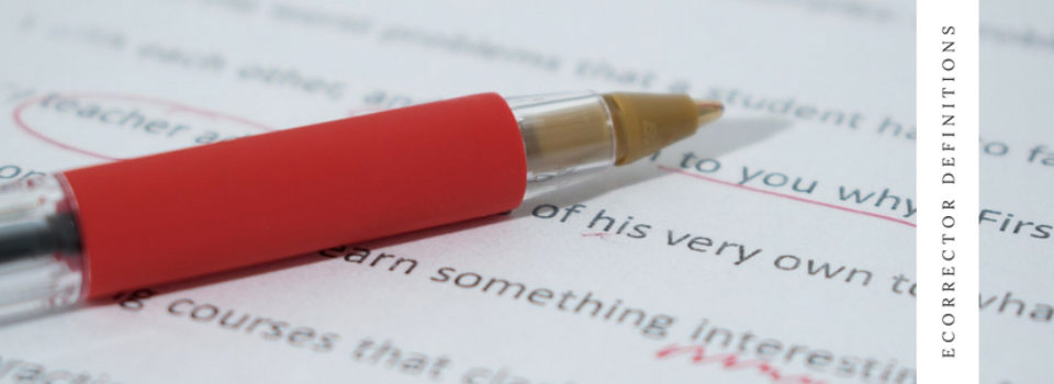 Proofreading, editing and formatting at eCORRECTOR