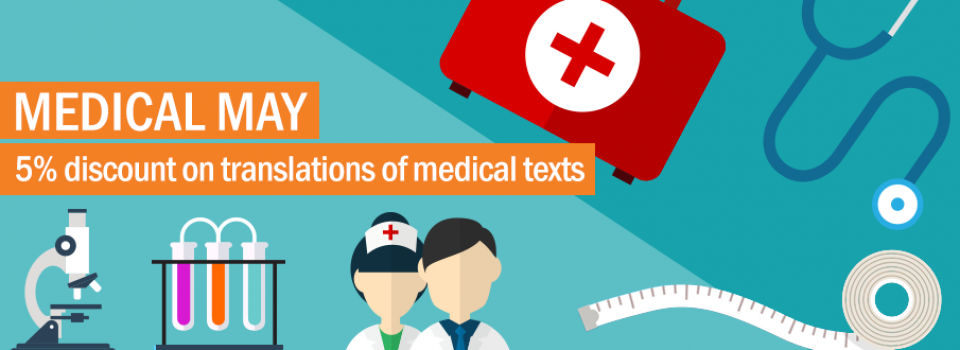 Medical documentation translations month