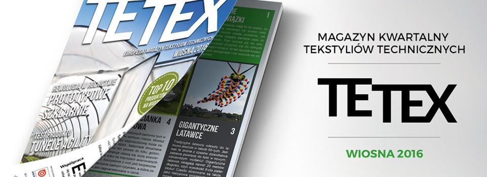 Kolejna odsłona magazynu TETEX