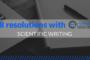 Your 2018 scientific resolutions