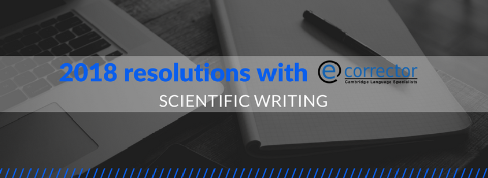 Your 2018 scientific resolution