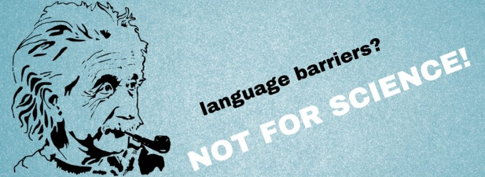 Language barrier should not stop your academic career