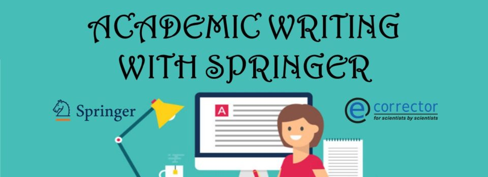 Academic writing with Springer